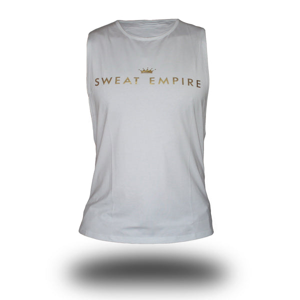 mens unlimited muscle white front
