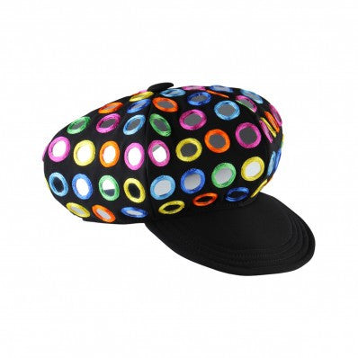 Moschino Multi Mirror Embellished Cap