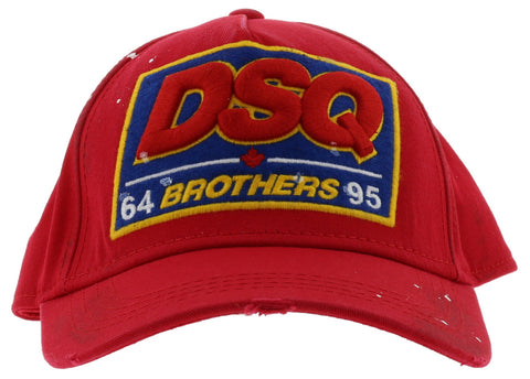Dsquared Red Brothers Cap
