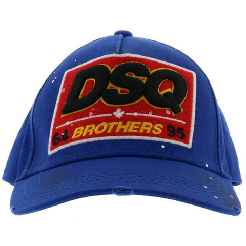 Dsquared Blue Brothers Cap
