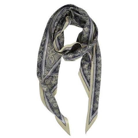 Midnight Ivory Gucci Scarf