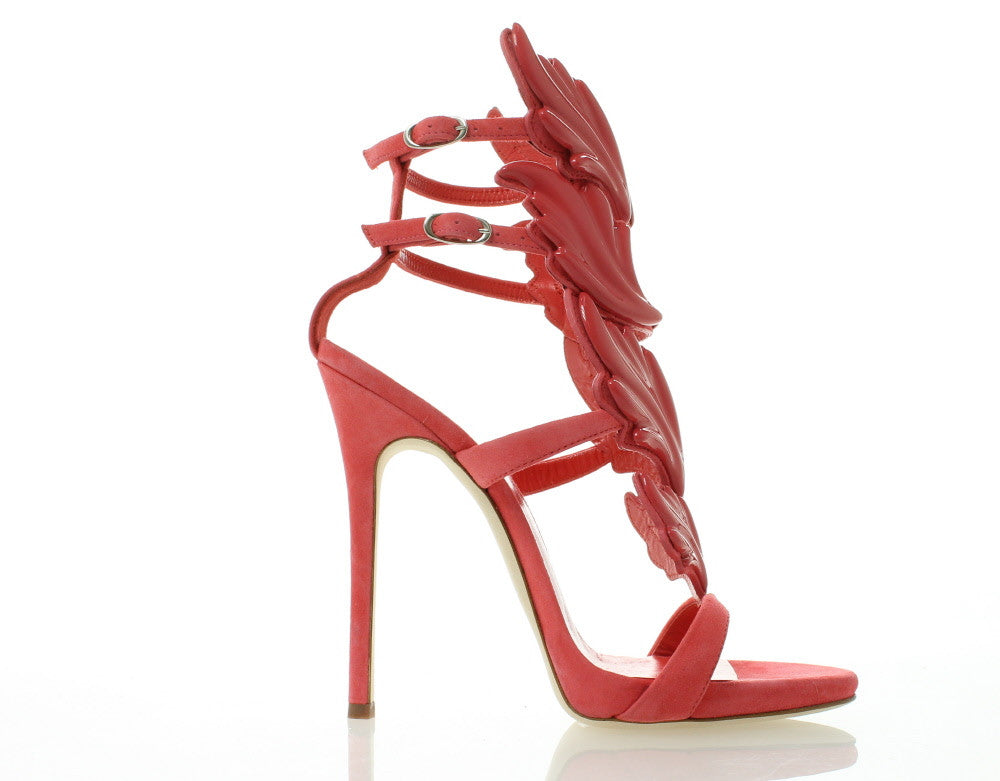 GIUSEPPE ZANOTTI DESIGN 'Cruel' Rose Women Leather Sandals