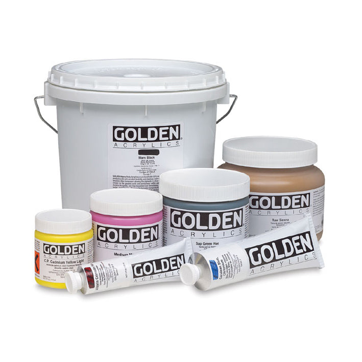 Golden : Heavy Body Acrylic : 473ml