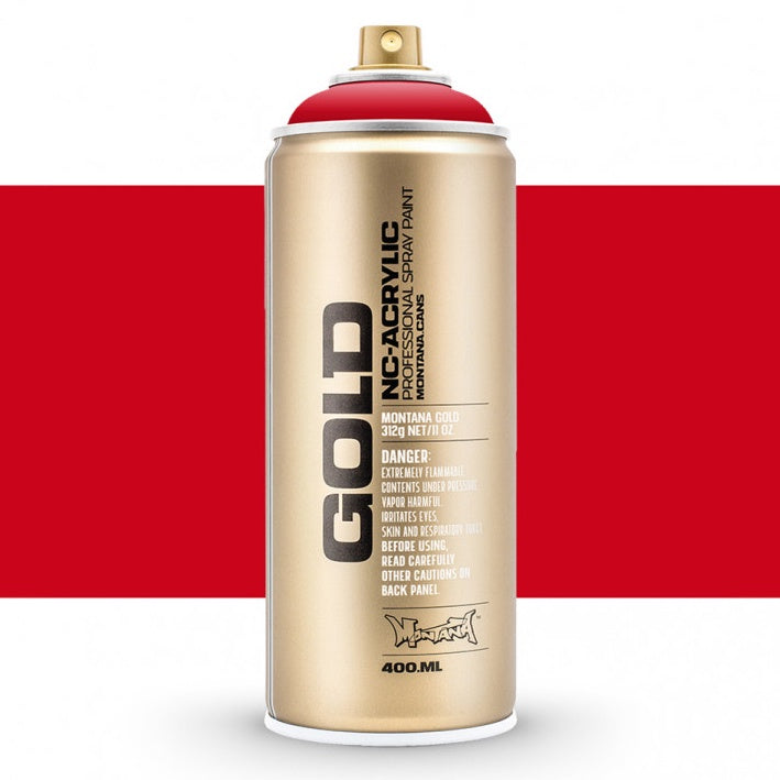 Montana Gold : Acrylic Spray Paint : 400ml : Shock