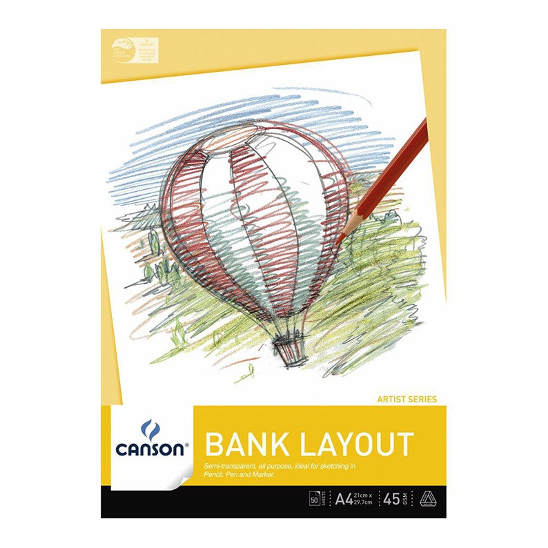 Canson : Bank Pads : 50 Sheets