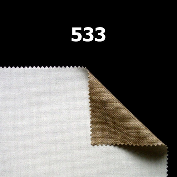Custom Stretched Canvas : Belle Arti / 533 Medium Fine Linen : Primed : 399gsm