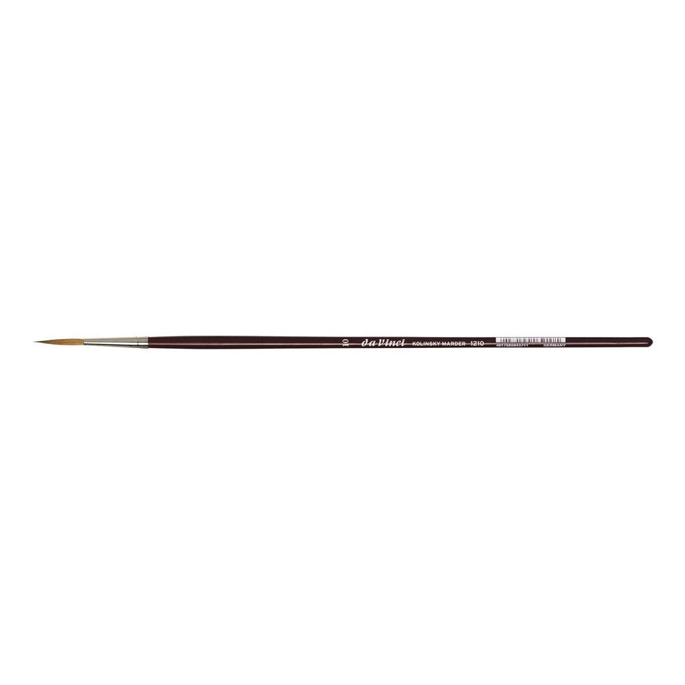 Da Vinci : 1210 Kolinsky Brush : Medium Length Liner
