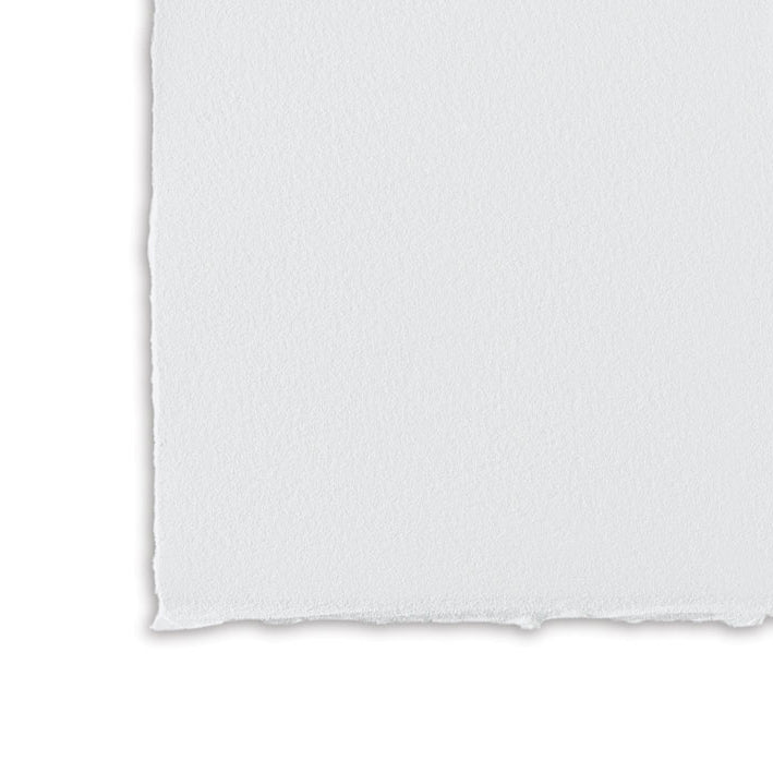 Magnani : Revere Printmaking Paper : Suede / Medium Texture : Polar White : 250gsm : 56x76cm : 5 Sheets