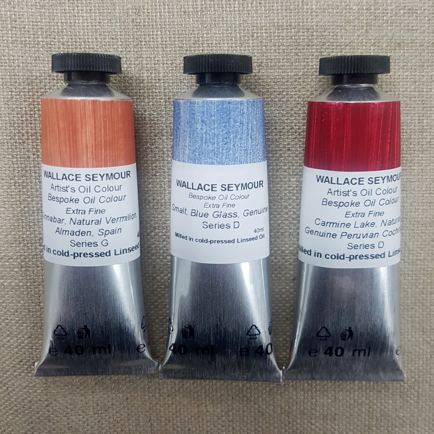 Wallace Seymour : Extra Fine Artist's Oil Colour : 40ml : Series BESPOKE