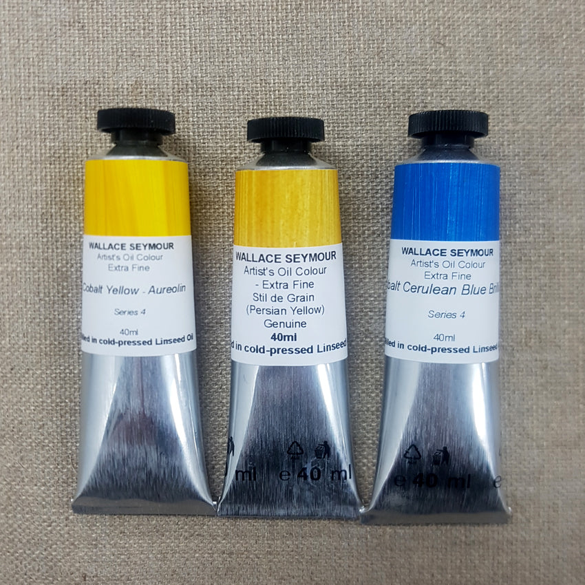 Wallace Seymour : Extra Fine Artist's Oil Colour : 40ml : Series 5