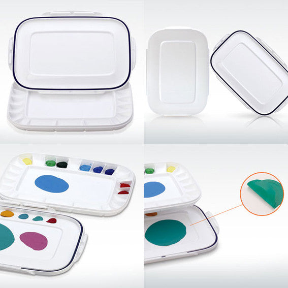 Mijello : Airtight Atelier Palette : For Acrylics & Oils