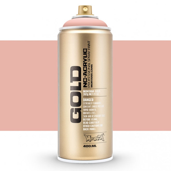 Montana Gold : Acrylic Spray Paint : 400ml : Classic