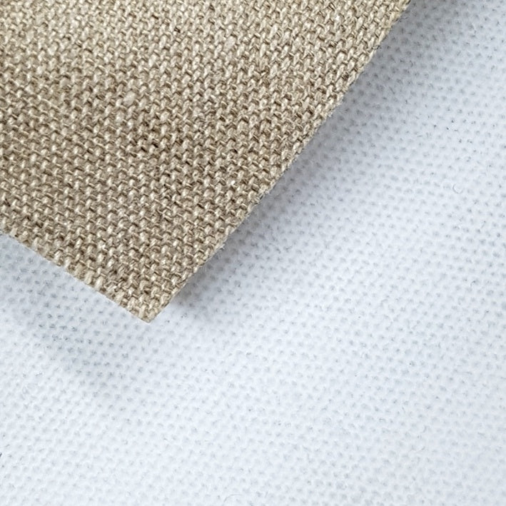 Custom Stretched Canvas : Belle Arti / 568 Medium Grain Linen : Triple Primed : 475gsm