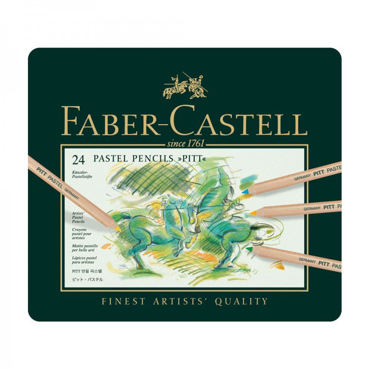 Faber Castell Pitt Pastel Pencil Set : Tin