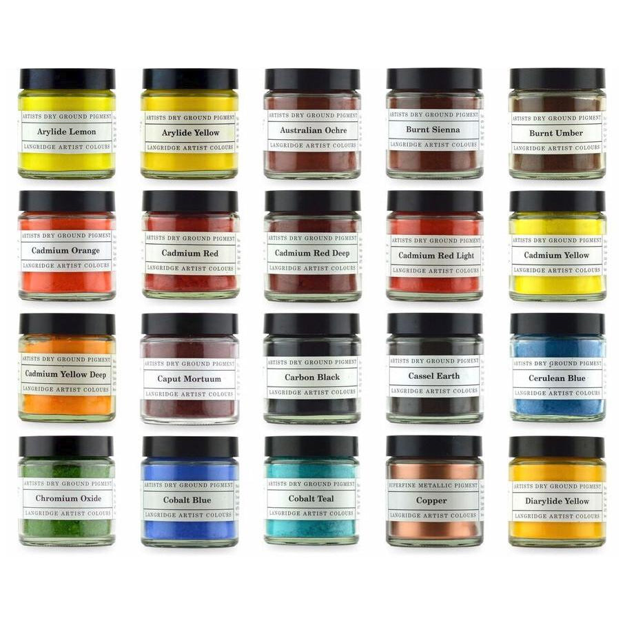 Langridge : Artist Pigments : 120ml