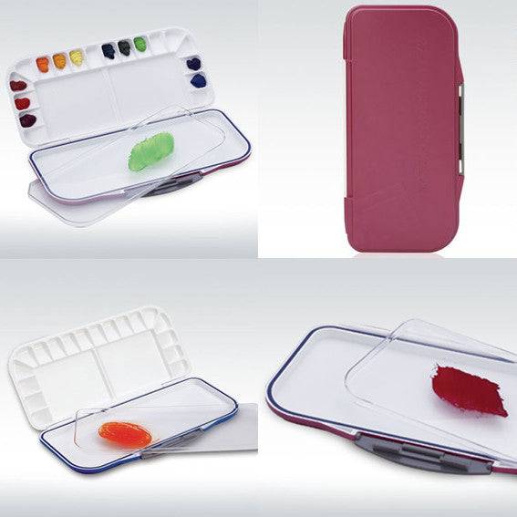 Mijello : Fusion Airtight/Leakproof Watercolour Palette