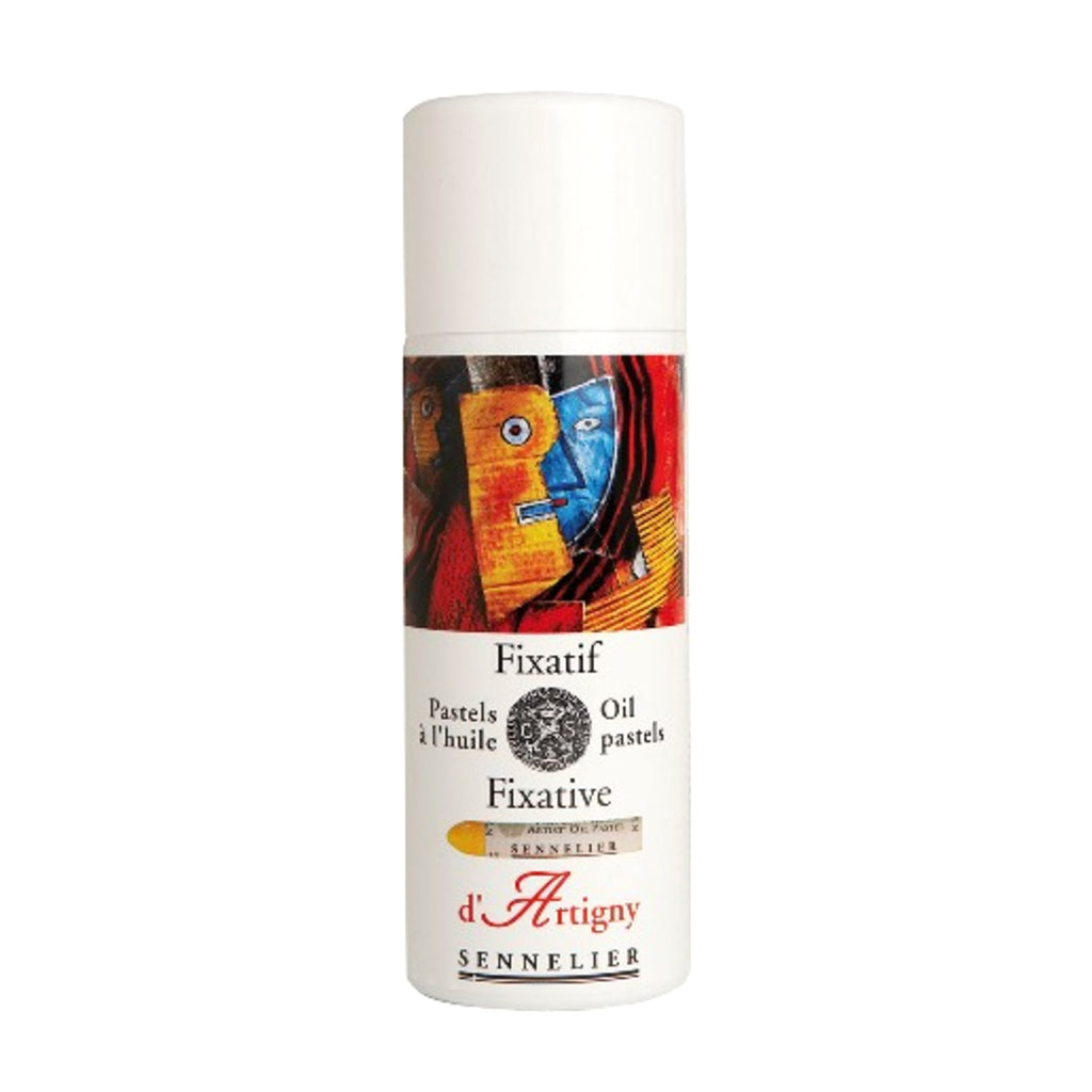 Sennelier : Aerosol Fixative / Oil Pastels : 400ml