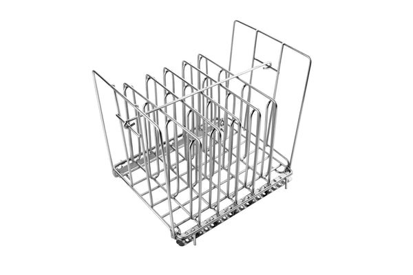 100% Rust-Proof 304 Stainless Steel Sous Vide Rack, Fits Most 12 qt Sous Vide Containers with Even Heating, Adjustable Design, and No Floating Pouches