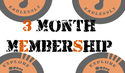 3 Month Social Club Membership - Take That Outside