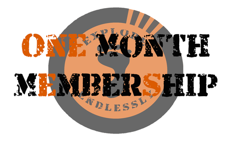 One Month Social Club Membership - Take That Outside