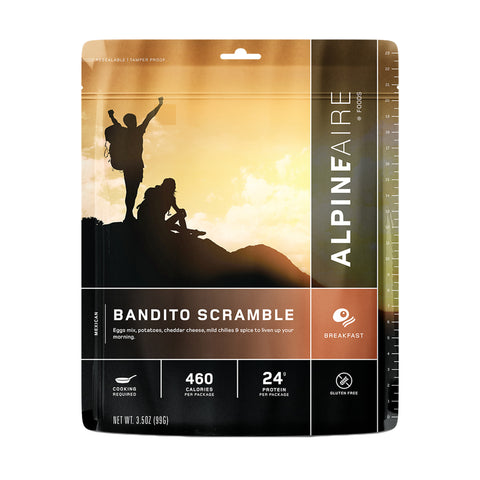 Alpine Aire Foods Bandito Scramble - Take That Outside