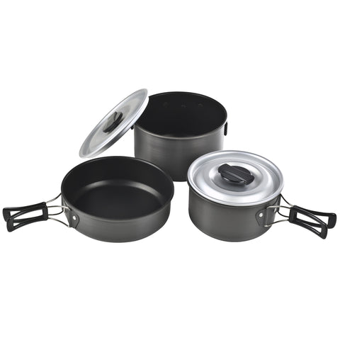 Chinook Ridge Hard Anodized Cookset Medium - Take That Outside