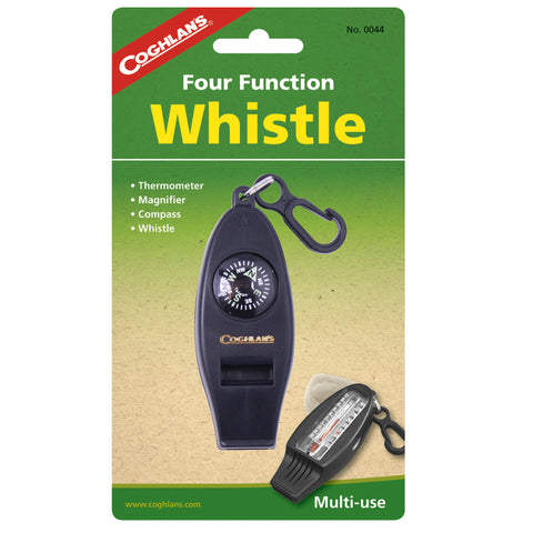 Coghlans Camping Whistle Four Function Whistle - Take That Outside