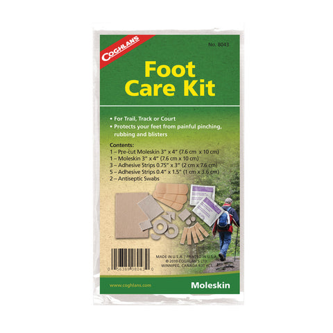 Coghlans Foot Care Kit - Take That Outside