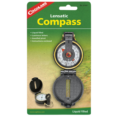 Coghlans Lensatic Compass - Take That Outside