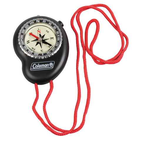 Coleman Compass w/LED Light - Take That Outside