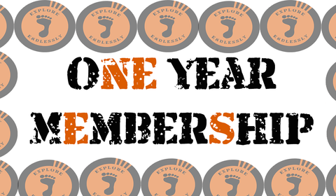 One Year Social Club Membership - Take That Outside