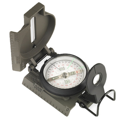Proforce Equipment Ndur Lensatic Compass w/Metal Case - Take That Outside