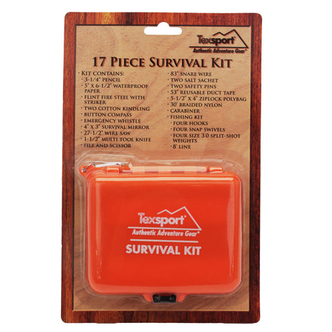 Tex Sport Survival Kit - Take That Outside