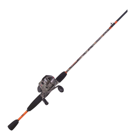 Zebco / Quantum 33 Camo Spincast Combo - Take That Outside