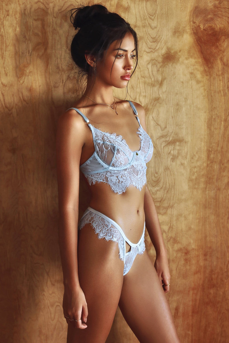 Be Mine Baby Blue-Gooseberry Intimates