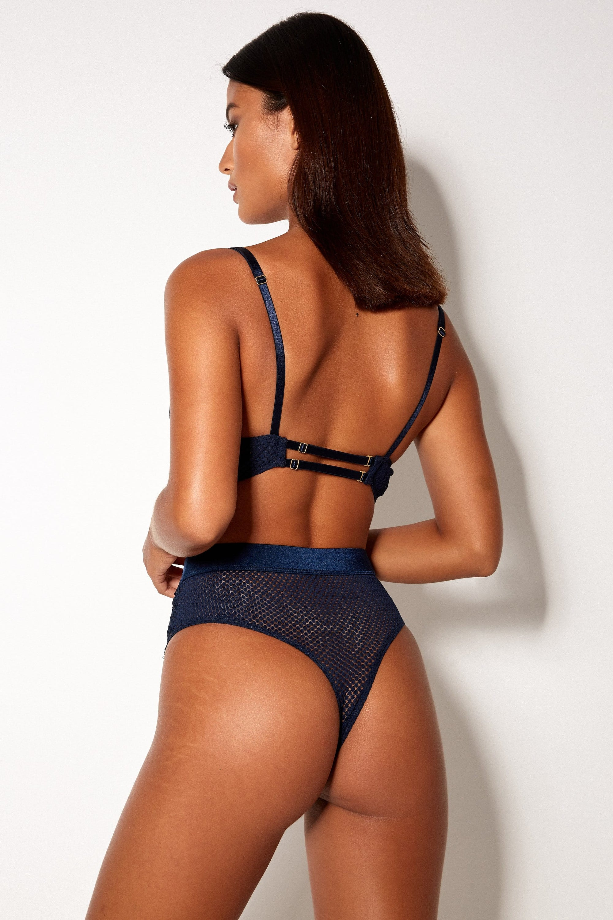High Waist Deep Blue