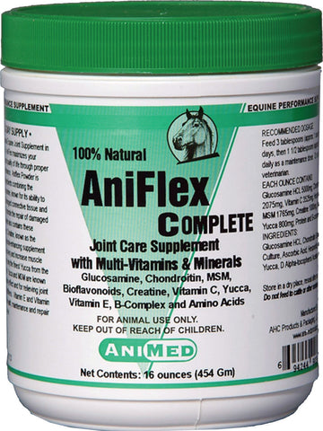 Aniflex Complete Joint Care Supplement For Horses