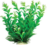 Leafy Aquarium Plant With Weighted Base