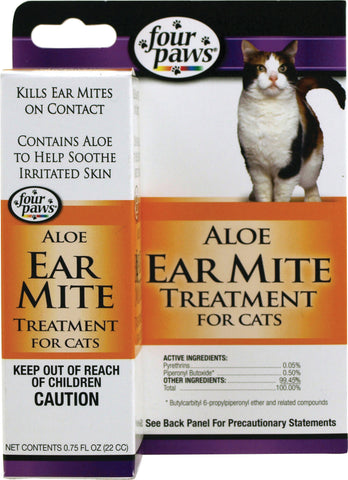 aloe ear mite trtmnt cat .75oz