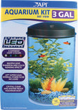 360 Degrees View Round Aquarium Kit