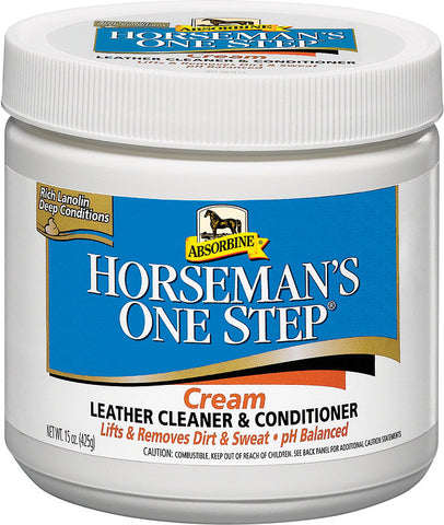 Absorbine Horseman's One Step Leather Cleaner/cond