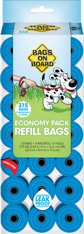 Bags On Board Pantry Pack Refill For Dog Waste