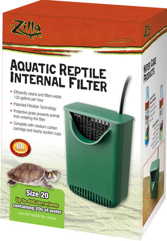 reptile internal filter 20g  12