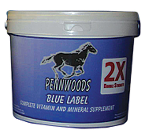 2x Blue Label Double Strength Supplement For Horse