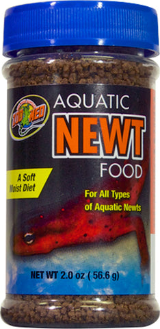 aquatic newt food 2oz       144