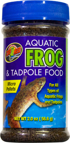 aq frog & tadpole food 2oz  144