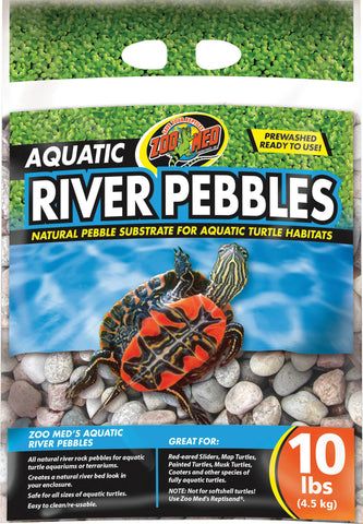 aquatic river pebbles 10lb    3
