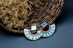 Afrocentric handmade earrings
