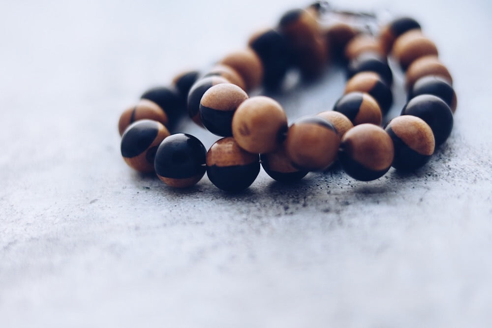Ebony wood bracelet