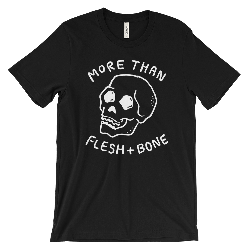 Flesh and Bone Christian Catholic T-Shirt | PAL Campaign